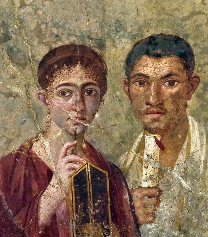 Pompeii-couple