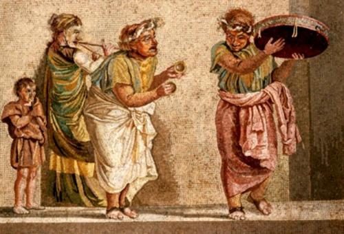 Resultado de imagen de imagen saturnales romanas